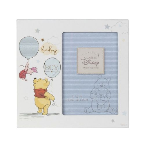 Disney Winnie The Pooh Photo Frame Gift for new baby boy